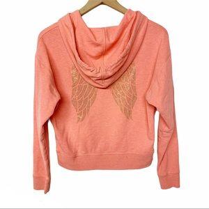 Victoria's Secret studded angel wing sweatshirt S